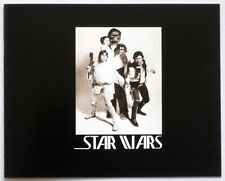 STAR WARS REPRO 1976 . GEORGE LUCAS HAND SIGNED CREW GIFT PHOTO BOOKLET