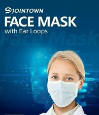 Jointown 3Layers Face Mask With Ear Loop BFE≥95% Fluid Resistant FDA/CE Approved