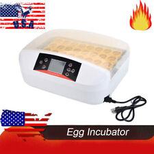 New Digital Egg Incubator Hatcher Temperature Control Automatic Turning Chicken