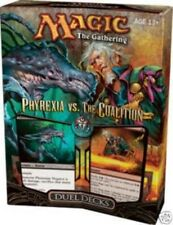 MtG ~ PHYREXIA vs THE COALITION Sealed Duel Decks Magic the Gathering Foil Rage
