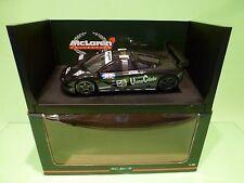 UT MODELS 151859 McLAREN F1 GTR KAKUSAI - 1st LE MANS GT1 - 1:18 - EXCELLENT