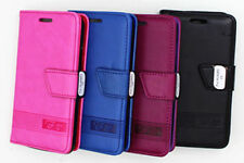 Mobile Phone Wallet Cases for Huawei Y5