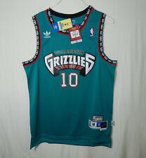 NWT Mike Bibby Vancouver Grizzlies NBA Basketball Jersey ADIDAS Soul Swingman M