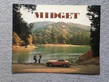 MG Midget 1976 Dealer Sales Brochure - Original - Mint Condition
