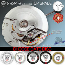 MOVEMENT AUTOMATIC ETA 2824-2 undecorated TOP GRADE, 5 DATE VARIATION SWISS MADE