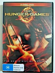 The Hunger Games (film), DVD , REGION 4 (LIKE NEW MINT)