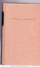 """AISCHYLOS-(7) """"TRAGODIEN"""" ubersetzt von JOHANN  G. DROYSEN, german, HB, like new"""
