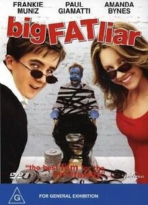 Big Fat Liar DVD Amanda Bynes Movie - FREE POSTAGE AUSTRALIA