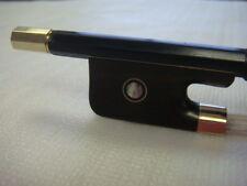New 3/4 Black Carbon Fiber Cello Bow/Free U.S Shipping