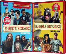 Horrible Histories BBC TV Series 1 and 2 One Two Kids History 4 DVD - New Sealed