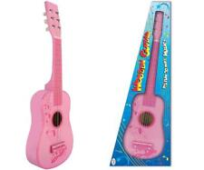 """23"""" Wooden Acoustic Guitar Musical Classic Instrument Children's Toy Pink Girls"""