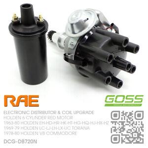 RAE DISTRIBUTOR & COIL 6-CYL 173-186-202 RED MOTOR [HOLDEN HK-HT-HG-HQ-HJ-HX-HZ]