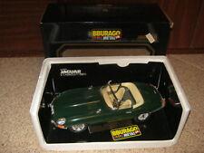 Modellino Jaguar E Cabriolet 1961 della Burago Die-Cast Metal