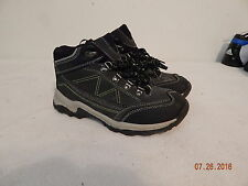 Boys Youth size 4 The Children's Place Tennis shoes Boots. Grey Black NICE