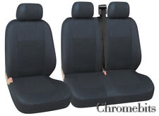 CITROEN JUMPER JUMPY SEAT COVERS NEW BLACK QUALITY FABRIC  FOR 2+1