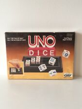 Vintage UNO Dice Game Sealed Gibsons Games 2 - 6 Players 1987