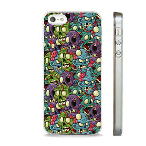 ZOMBIES ALIENS HORROR SPOOF FUN  PHONE CASE COVER FITS All APPLE IPHONE MODELS