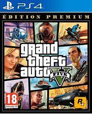 Videogioco PS4 GTA Grand Theft Auto 5 Sony PlayStation 4 PREMIUM EDITION Nuovo