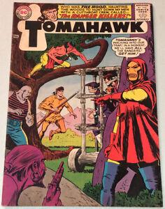 Tomahawk #96 VG/F 1965 DC Comic Book Silver Age Western 1st App. The Hood