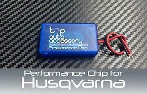 Performance Speed Chip Racing Torque Horsepower Power ECU Module for Husqvarna