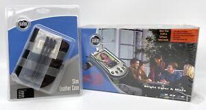 NEW SEALED!! Palm m130 Handheld Leather Case - Extra Stylus - Unopened