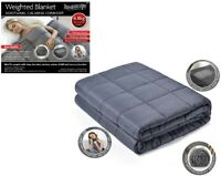 Weighted Blanket Warm Sleep Soothing Calming Comfort Gravity Sensory Double Size