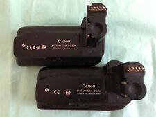 Canon BG-E2N and BG-E2 Vertical Grip/Battery Holders TWO Grips
