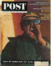 Saturday Evening Post July 27 - July 4 1964 Steel Industry Macabees Pearls