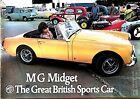 MG MIDGET Car Sales Brochure 1972 #2864
