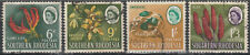 Southern Rhodesia 1964 QEII Definitive Series 6d to 1/3  SG 97-100 (Used)  a117