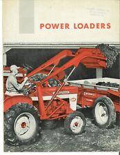 Ih Power Loaders Farmall Amp International Tractors Brochure 240 340 460 560 B 275