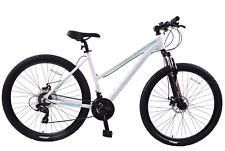 "Ammaco Team 4.0 29"" Womens Mountain Bike Front Suspension 19"" Frame Alloy White"