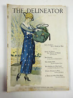 The Delineator May 1918, Vintage Fashion,Sewing Patterns, Paper Dolls