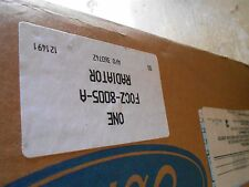 NOS NEW 1990 - 1996 FORD ESCORT MANUAL TRANSMISSION RADIATOR ASBY F0CZ-8005-A