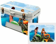 Skin Decal Wrap for Ozark Trail 52 Quart High Performance sticker Cooler Mermaid