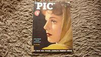 VINTAGE AMERICAN PIC HOLLYWOOD etc MAGAZINE APRIL 1938 ANN SHERIDAN