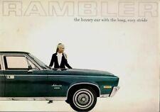 American Motors Rambler Rebel & Ambassador 1970 UK Market Sales Brochure