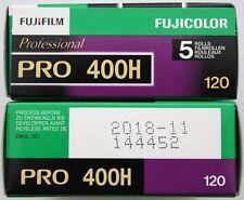 Film pellicules 120 400 Fuji couleur négatif lot 10 neuf nov 2018 ! stock France