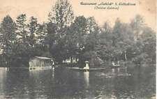 AK - Restaurant Seeblick bei Gottschimm anno 1919