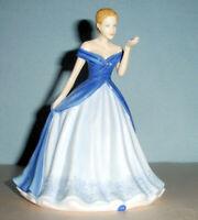 "Royal Doulton Gentle Heart Petite Figurine Sentiments #HN5848 6.5""H New"