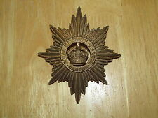 1901 -1940 Pattern Canadian Helmet Plate Badge Royal Military College of Canada