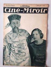 CINE MIROIR N°477 25 MAI 1934 ARMAND BERNARD ET JANINE MERREY