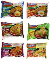 Indomie Mi Variety Pack Instant Noodles (Pack Of 30) Ramen Fast Cook Hot Water