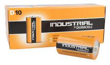 Paquete con 10 DURACELL INDUSTRIAL TIPO DE D baterías
