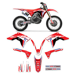 2017 2018 2019 CRF 450R GRAPHICS KIT FIT HONDA CRF450R 450 R HRC DECALS STICKERS