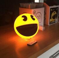 Pac-Man Lampe mit Sound Nightlight Nachtlicht Nachtischlampe Stimmung Licht