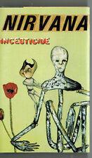 MFD IN CANADA 1992 ROCK GRUNGE CASSETTE NIRVANA : INCESTICIDE