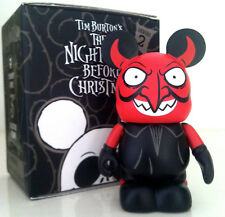 "DISNEY VINYLMATION 3"" THE NIGHTMARE BEFORE CHRISTMAS NBC 2 DEVIL HALLOWEEN TOY"