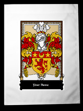 FLAG COAT OF ARMS FAMILY CREST - Faeff Feefe Feife Feiffe Feof Fief Fiefe Fieff