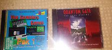 Quantum Gate The Saga Begins CD-Rom for DOS & The Gamblers Games